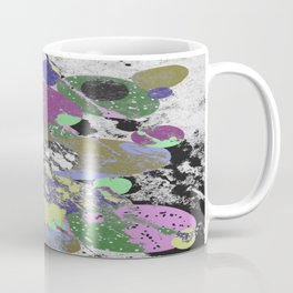 Stack Em Up! - Abstract, textured, pastel coloured artwork Coffee Mug