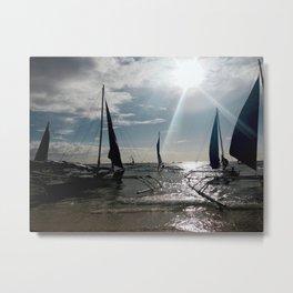 Sail on. Metal Print