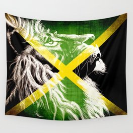 King Of Jamaica Wall Tapestry