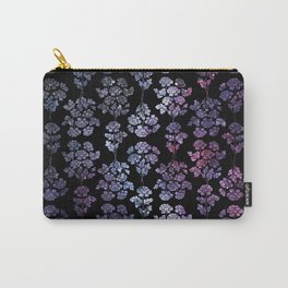 Floral Constelations pattern Carry-All Pouch