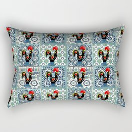 Galo de Barcelos, Portugal Rectangular Pillow