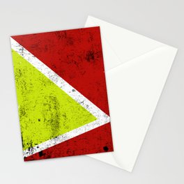 Rusty abstract art Stationery Cards