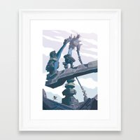 shadow of the colossus Framed Art Prints featuring Shadow of the Colossus  by Felo