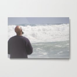 Praying to the Ocean Gods--Florida Metal Print