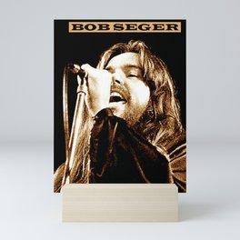 bob seger live concert 2021 Mini Art Print
