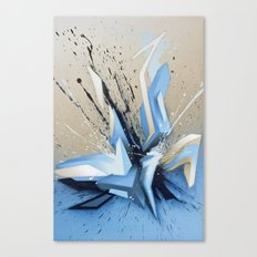 Cold Explosion Canvas Print