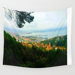 La Spezia, Italy City Panorama Wall Tapestry