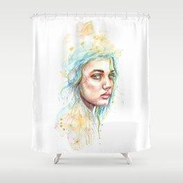 Hollow Shower Curtain