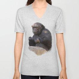 Primates  Unisex V-Neck