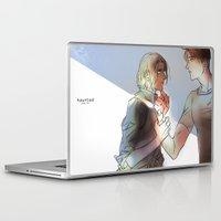hetalia Laptop & iPad Skins featuring hetalia Hauted by Hellacrappy
