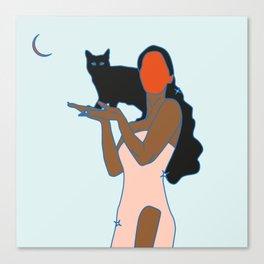 Alma de gato Canvas Print