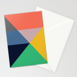 Mid Century Modern Vintage 11 Stationery Cards