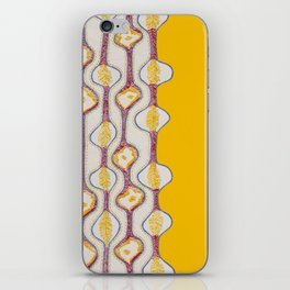 Stitches - Growing bubbles iPhone Skin