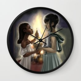 Chalice and Blade Wall Clock