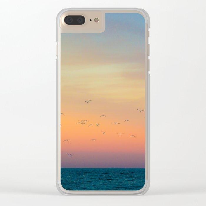 Night Flight Clear iPhone Case