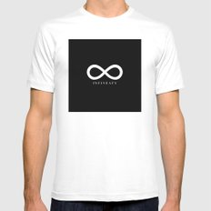 Infineaty #02 Mens Fitted Tee White MEDIUM