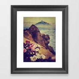 As Dusk Settles in Daiino Framed Art Print