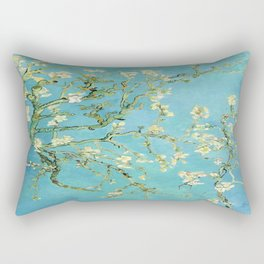 Vincent Van Gogh Almond Blossoms Rectangular Pillow