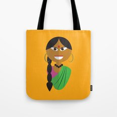 Indian Doll Tote Bag