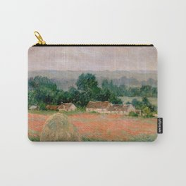 Haystack at Giverny Carry-All Pouch