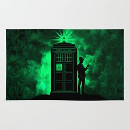 tardis doctor who Rug