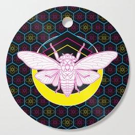 Geometric Cicada Cutting Board