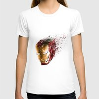 ironman T-shirts featuring Ironman by EnragedPeasant
