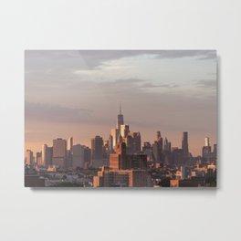 Mighty Manhattan Metal Print