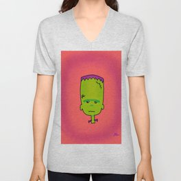 Little Frankie Jr. Unisex V-Neck