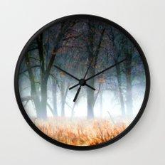 Autumn Mist Wall Clock