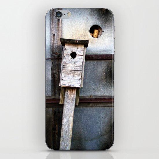 birds house iPhone & iPod Skin