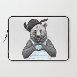 from russia with love Laptop Sleeve