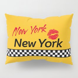 New York, New York Pillow Sham