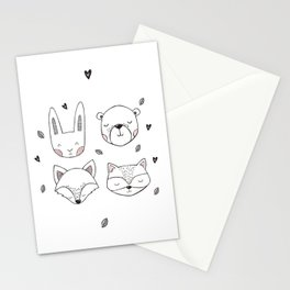 Scandinavian Forest Stationery Cards