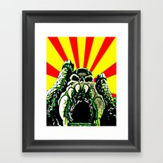 Castle Grayskull (He Man & The Masters Of The Universe) Framed Art Print