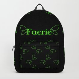 Faerie With Wings Backpack