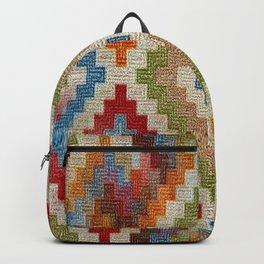 kilim rug pattern Backpack