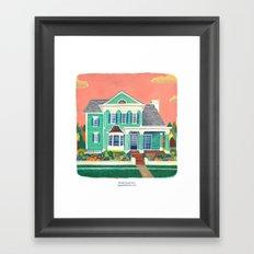 Dream House No.2 Framed Art Print