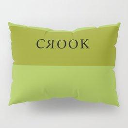 Lime Green Crook Pillow Sham
