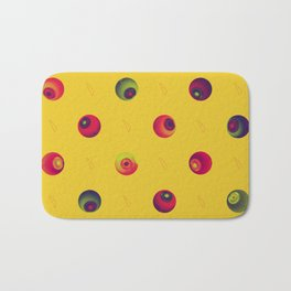 eyeballs Bath Mat