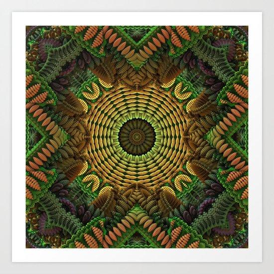 In the Garden of Earthly Delights Art Print