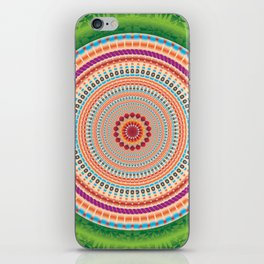 Fraternity Mandala - מנדלה אחווה iPhone Skin