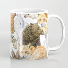 woodland animals pattern Coffee Mug