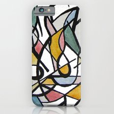 Geometric Abstract Watercolor Ink Slim Case iPhone 6s
