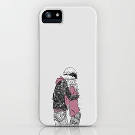 Bughead Hugs iPhone Case