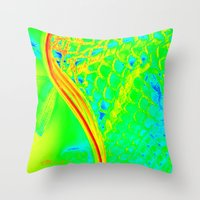 lacrosse Throw Pillows featuring LACROSSE by TMCdesigns