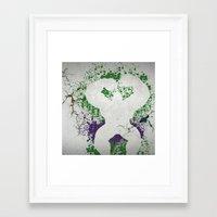 hulk Framed Art Prints featuring Hulk by NKlein Design