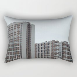 New construction of a new residential complex Rectangular Pillow