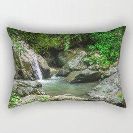 Tropical Pool Rectangular Pillow