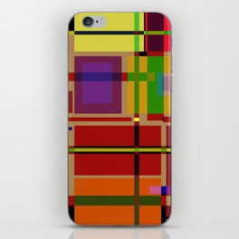 PIXEL MAP iPhone Skin